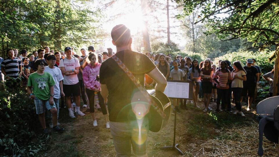 Black Diamond Camp worship