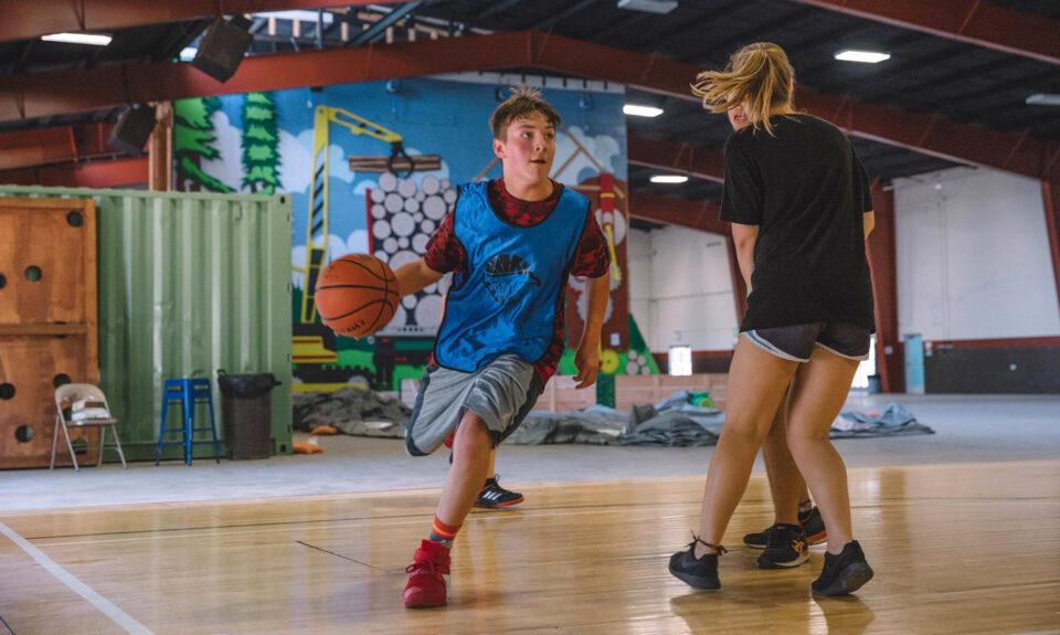 Activity of basketball