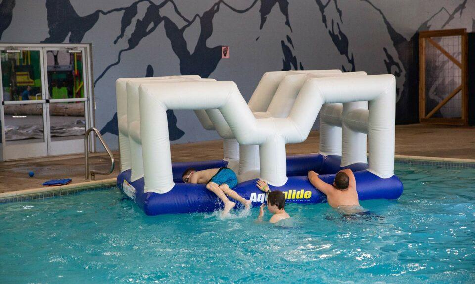 Activity of an indoor pool