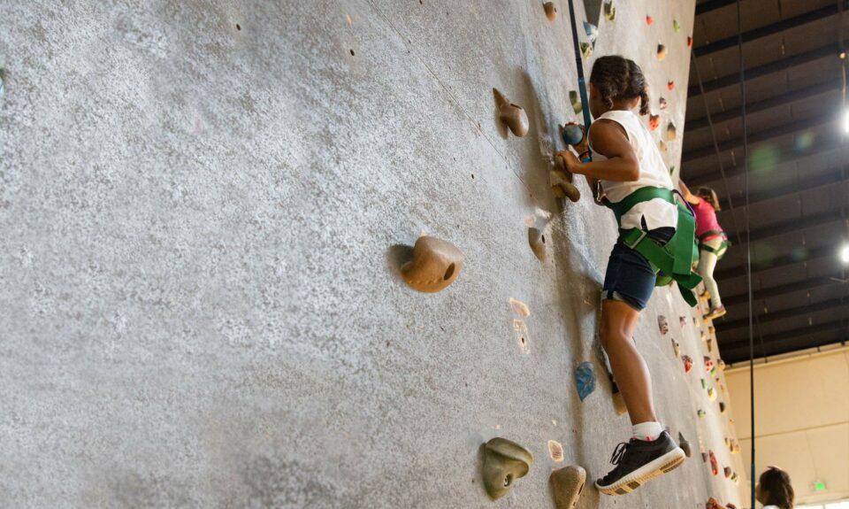 Activity of an indoor rock wall