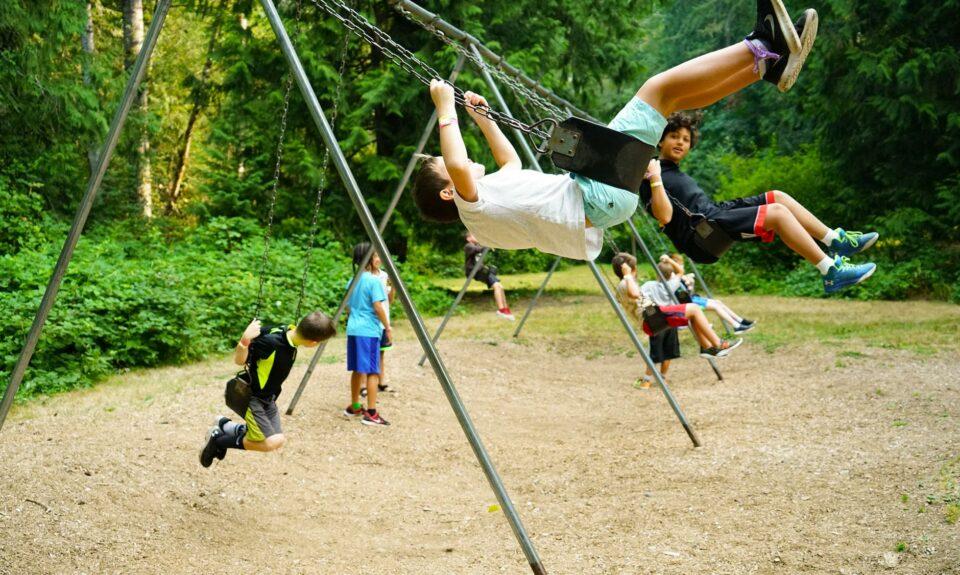 Activity of a playground