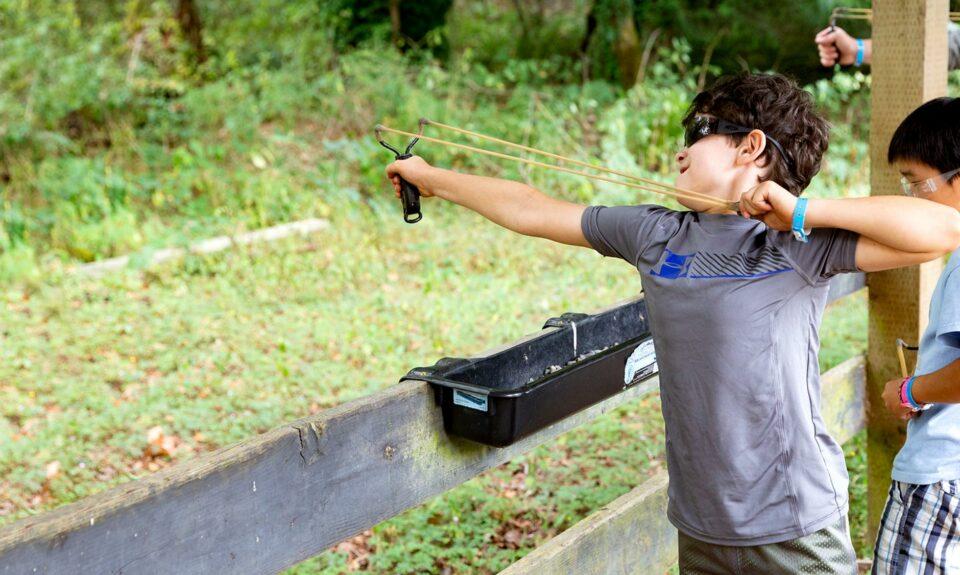 Take aim and fire
